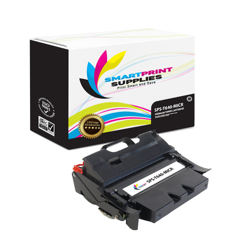 Lexmark T640 Replacement Black MICR Toner Cartridge by Smart Print Supplies