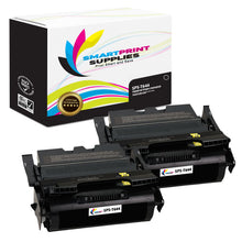 2 Pack Lexmark T644 Replacement Black Toner Cartridge by Smart Print Supplies