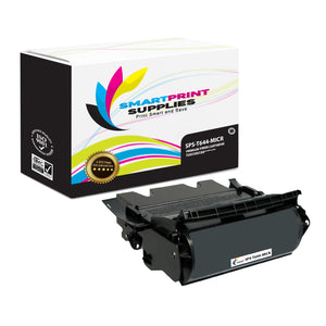 Lexmark T644 Replacement Black MICR Toner Cartridge by Smart Print Supplies
