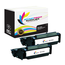 2 Pack Lexmark X422 Replacement Black Toner Cartridge by Smart Print Supplies