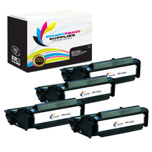 4 Pack Lexmark X422 Replacement Black Toner Cartridge by Smart Print Supplies