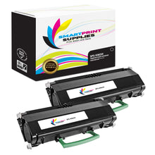 2 Pack Lexmark X463H11G Replacement Black Toner Cartridge by Smart Print Supplies
