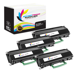 4 Pack Lexmark X463H11G Replacement Black Toner Cartridge by Smart Print Supplies