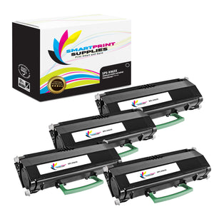 4 Pack Lexmark X463X11G Replacement Black Toner Cartridge by Smart Print Supplies