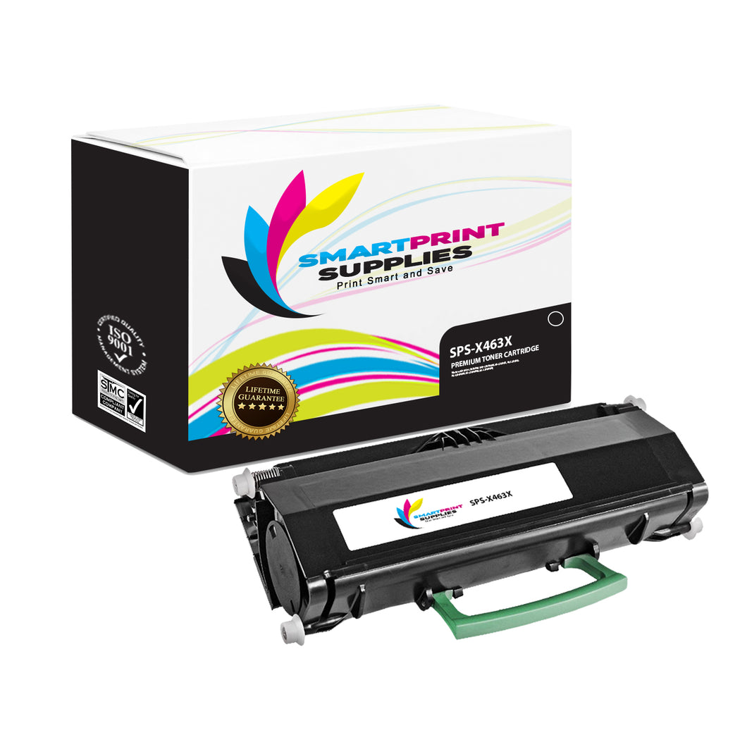Lexmark X463X11G Replacement Black Toner Cartridge by Smart Print Supplies