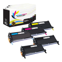 5 Pack Lexmark X560 Replacement (CMYK) Toner Cartridge by Smart Print Supplies