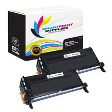 2 Pack Lexmark X560 Replacement Black Toner Cartridge by Smart Print Supplies