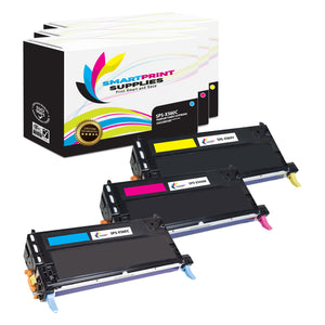 3 Pack Lexmark X560 Replacement (CMY) Toner Cartridge by Smart Print Supplies