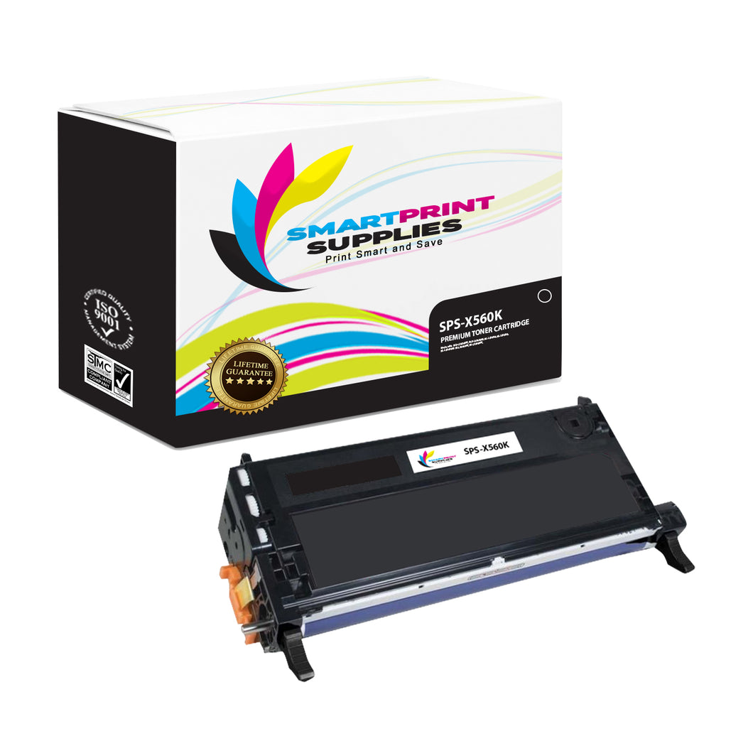 Lexmark X560 Replacement Black Toner Cartridge by Smart Print Supplies