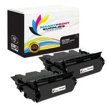 2 Pack Lexmark X644X11A Replacement Black Toner Cartridge by Smart Print Supplies
