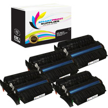 4 Pack Lexmark X651H11A Replacement Black Toner Cartridge by Smart Print Supplies