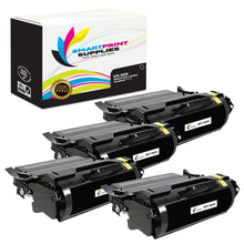 4 Pack Lexmark X654X11A Replacement Black Toner Cartridge by Smart Print Supplies