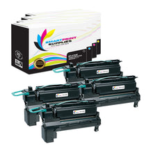 4 Pack Lexmark X792 Replacement (CMYK) Toner Cartridge by Smart Print Supplies