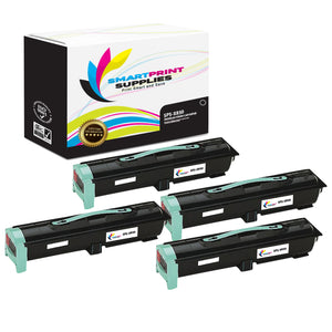 4 Pack Lexmark X850 Replacement Black Toner Cartridge by Smart Print Supplies