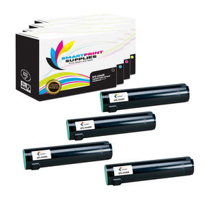 4 Pack Lexmark X940 Replacement (CMYK) Toner Cartridge by Smart Print Supplies