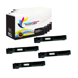 4 Pack Lexmark X950 Replacement (CMYK) Toner Cartridge by Smart Print Supplies