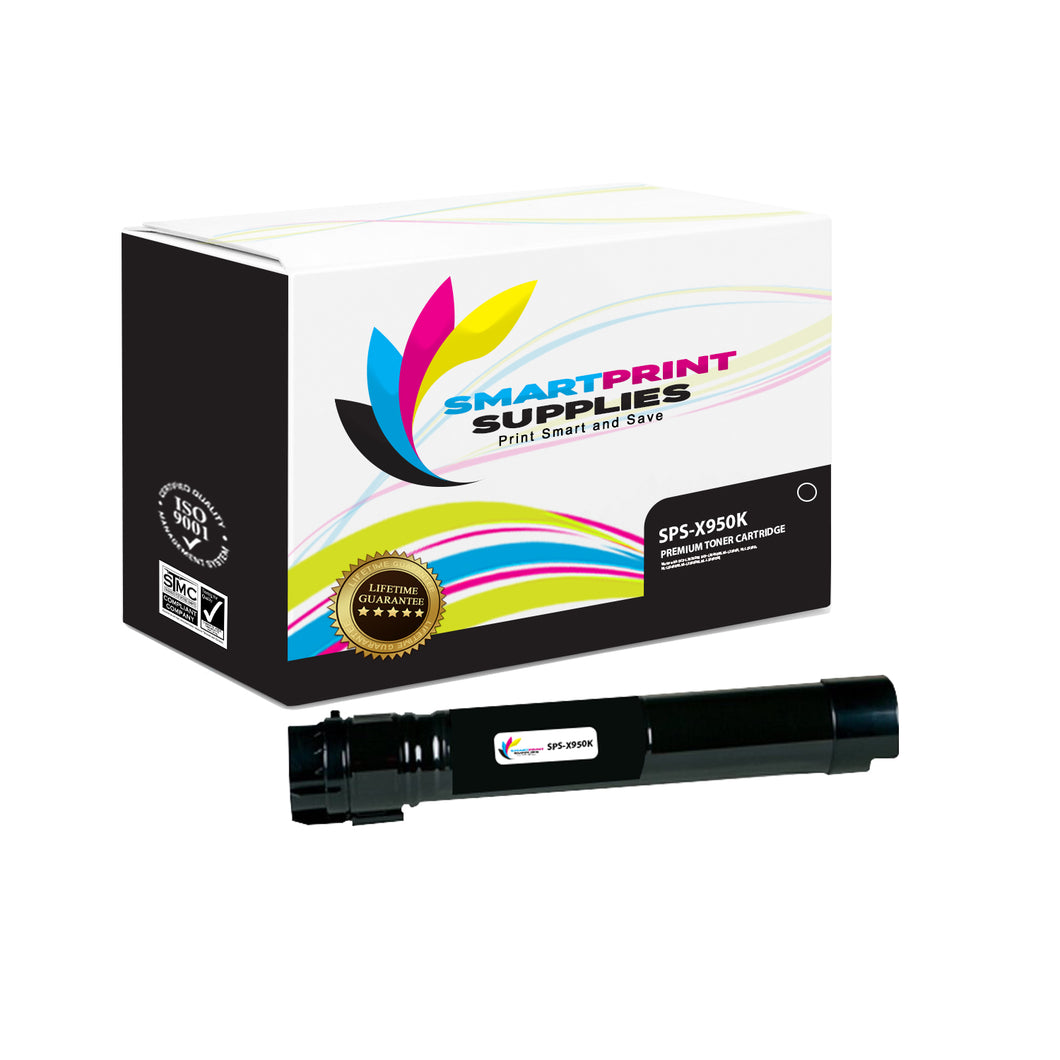 Lexmark X950 Replacement Black Toner Cartridge by Smart Print Supplies