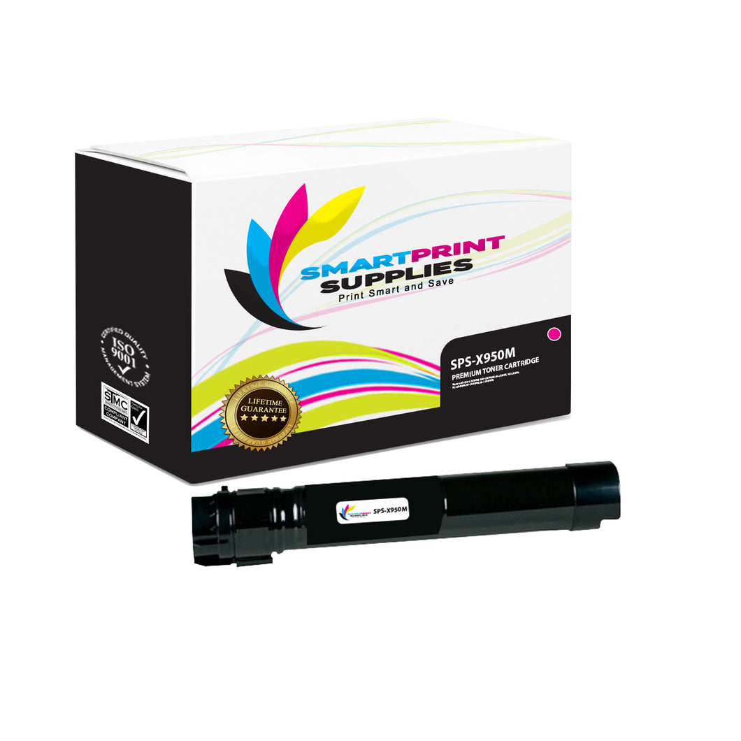 Lexmark X950 Replacement Magenta Toner Cartridge by Smart Print Supplies