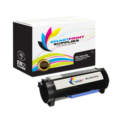 Lexmark 501H Replacement Black Toner Cartridge by Smart Print Supplies