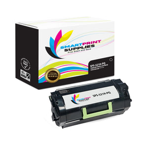 Lexmark 521H Replacement Black Toner Cartridge by Smart Print Supplies