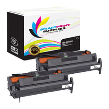 2 Pack Okidata 43979001 Replacement Drum Unit By Smart Print Supplies