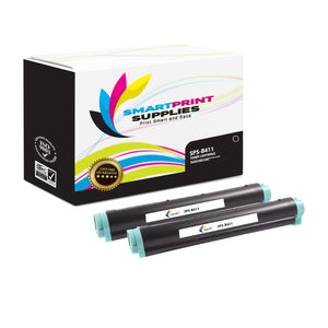 2 Pack Okidata B411 Black Toner Cartridge Replacement By Smart Print Supplies