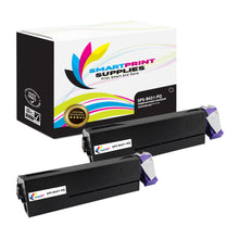 2 Pack Okidata 44574901 Premium Replacement Black Toner Cartridge by Smart Print Supplies