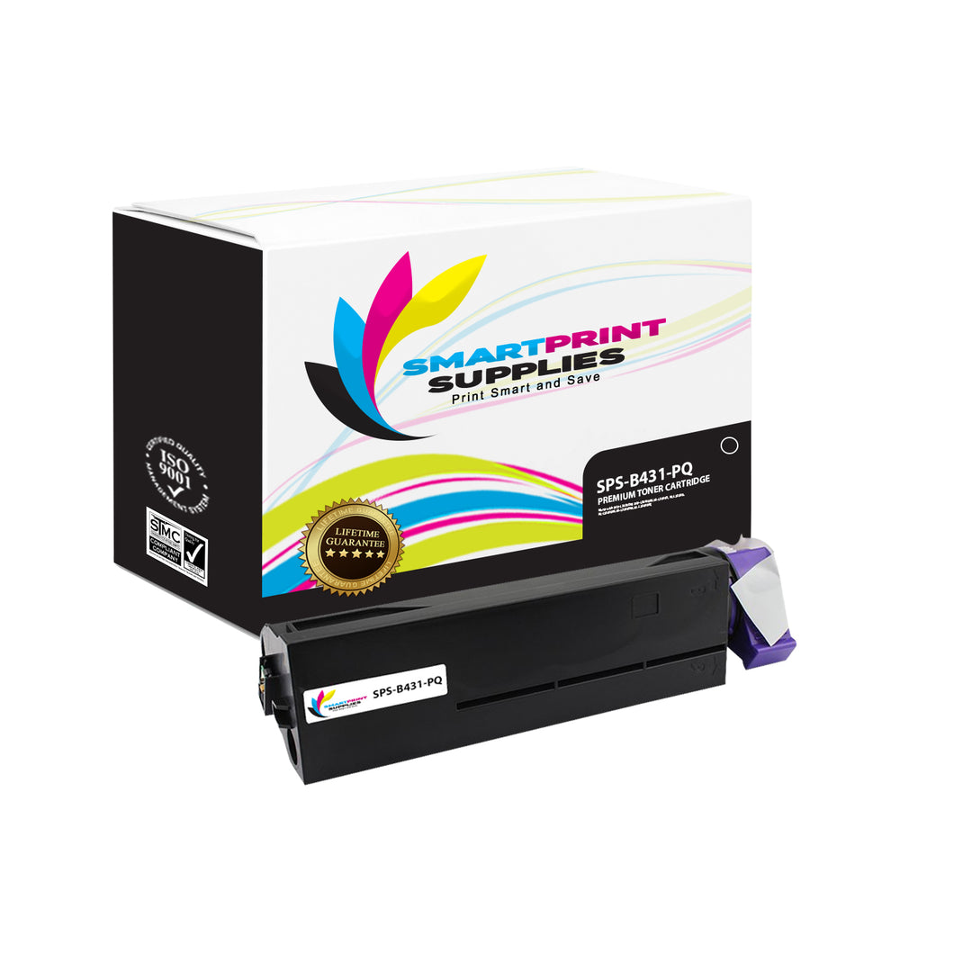 Okidata 44574901 Premium Replacement Black Toner Cartridge by Smart Print Supplies