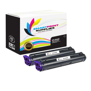 2 Pack Okidata B4400 Black Toner Cartridge Replacement By Smart Print Supplies
