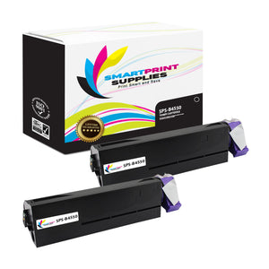 2 Pack Okidata B4550 Black Toner Cartridge Replacement By Smart Print Supplies