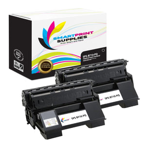 2 Pack Okidata 52123601 Premium Replacement Black Toner Cartridge by Smart Print Supplies