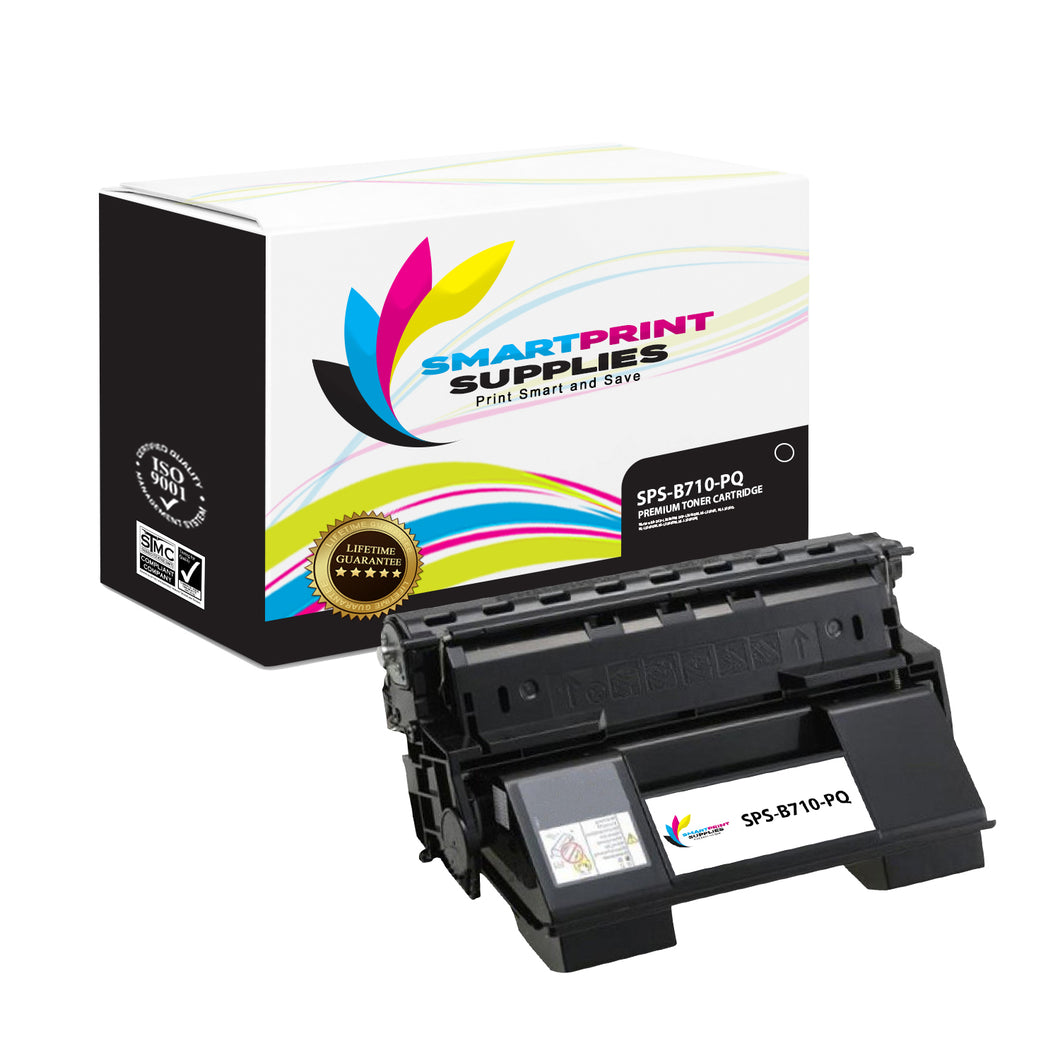 Okidata 52123601 Premium Replacement Black Toner Cartridge by Smart Print Supplies