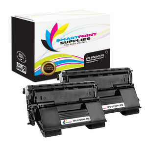 2 Pack Okidata 52123602 Premium Replacement Black Toner Cartridge by Smart Print Supplies