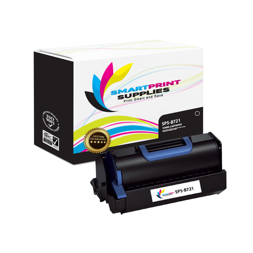 1 Pack Okidata B721 Black Toner Cartridge Replacement By Smart Print Supplies