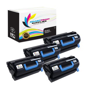 4 Pack Okidata B731 Black Toner Cartridge Replacement By Smart Print Supplies