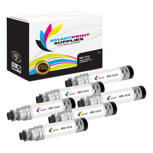 6 Pack Ricoh Type 1170D Black Toner Cartridge Replacement By Smart Print Supplies