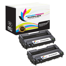2 Pack Ricoh SP3400 MICR Replacement Black Toner Cartridge by Smart Print Supplies /5000 Pages