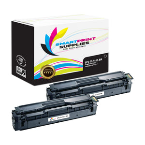 2 Pack Samsung CLP415 Black Toner Cartridge Replacement By Smart Print Supplies