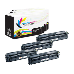 4 Pack Samsung CLP415 4 Colors Toner Cartridge Replacement By Smart Print Supplies