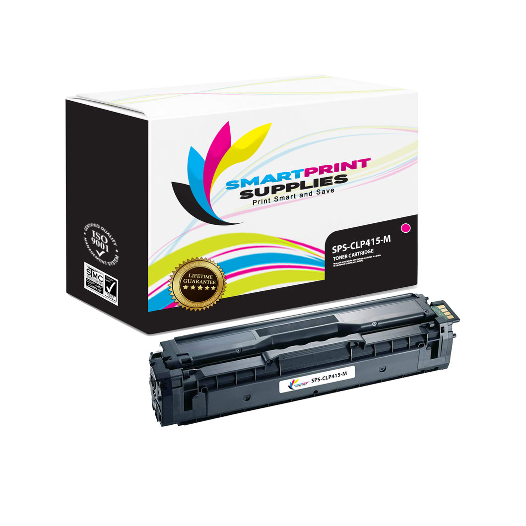 1 Pack Samsung CLP415 Magenta Toner Cartridge Replacement By Smart Print Supplies