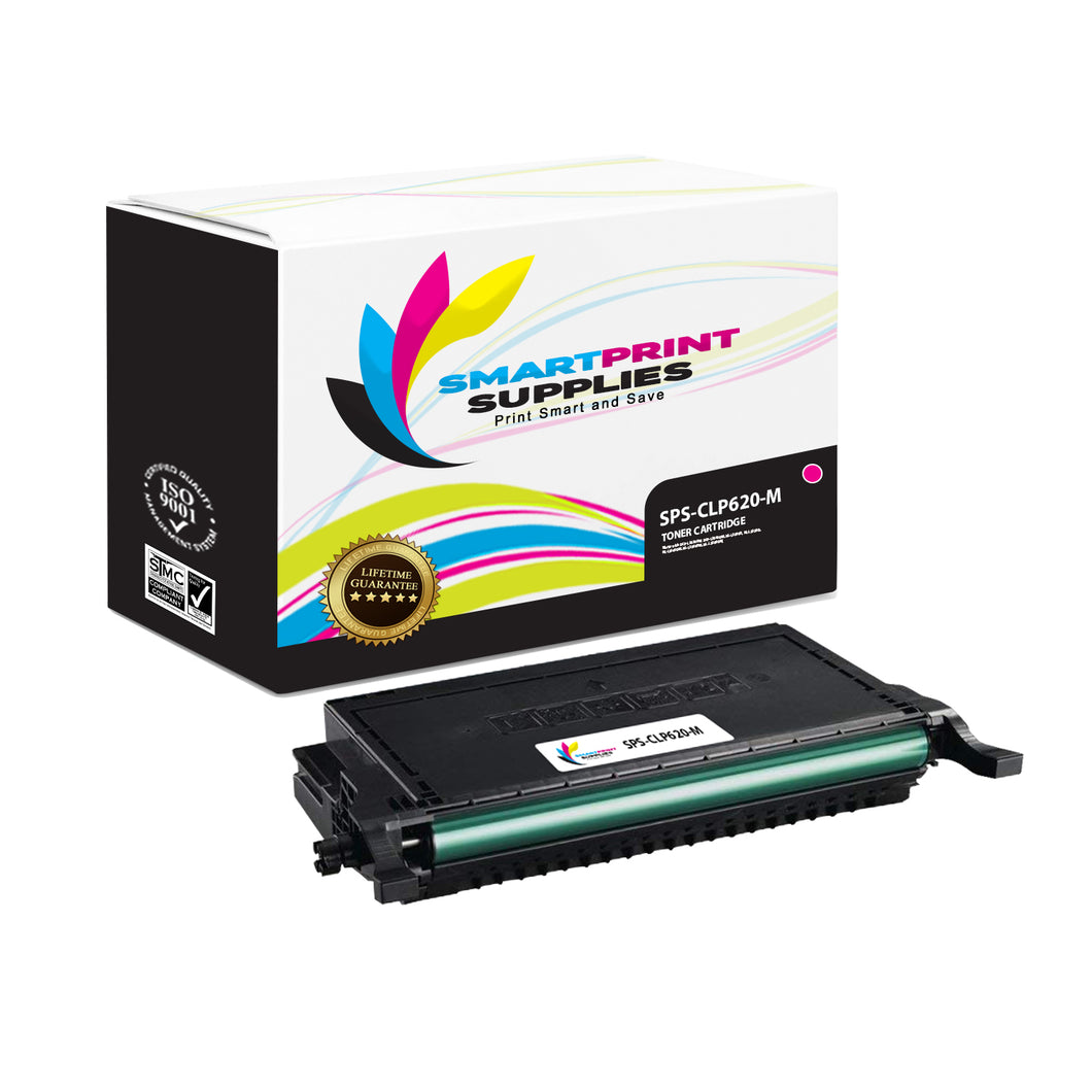 1 Pack Samsung CLT508 Magenta High Yield Toner Cartridge Replacement By Smart Print Supplies