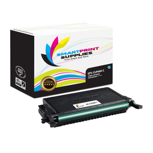 1 Pack Samsung CLP660 Cyan Toner Cartridge Replacement By Smart Print Supplies