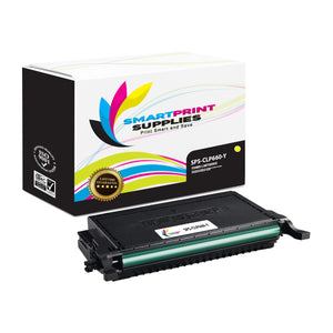 1 Pack Samsung CLP660 Yellow Toner Cartridge Replacement By Smart Print Supplies