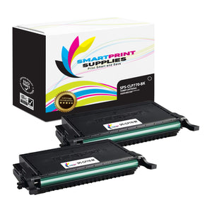 2 Pack Samsung CLT609 Black Toner Cartridge Replacement By Smart Print Supplies