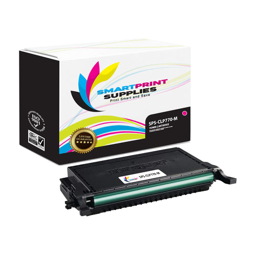 1 Pack Samsung CLT609 Magenta Toner Cartridge Replacement By Smart Print Supplies