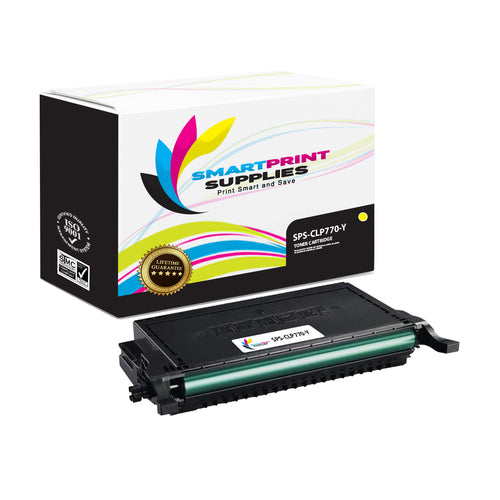 1 Pack Samsung CLT609 Yellow Toner Cartridge Replacement By Smart Print Supplies