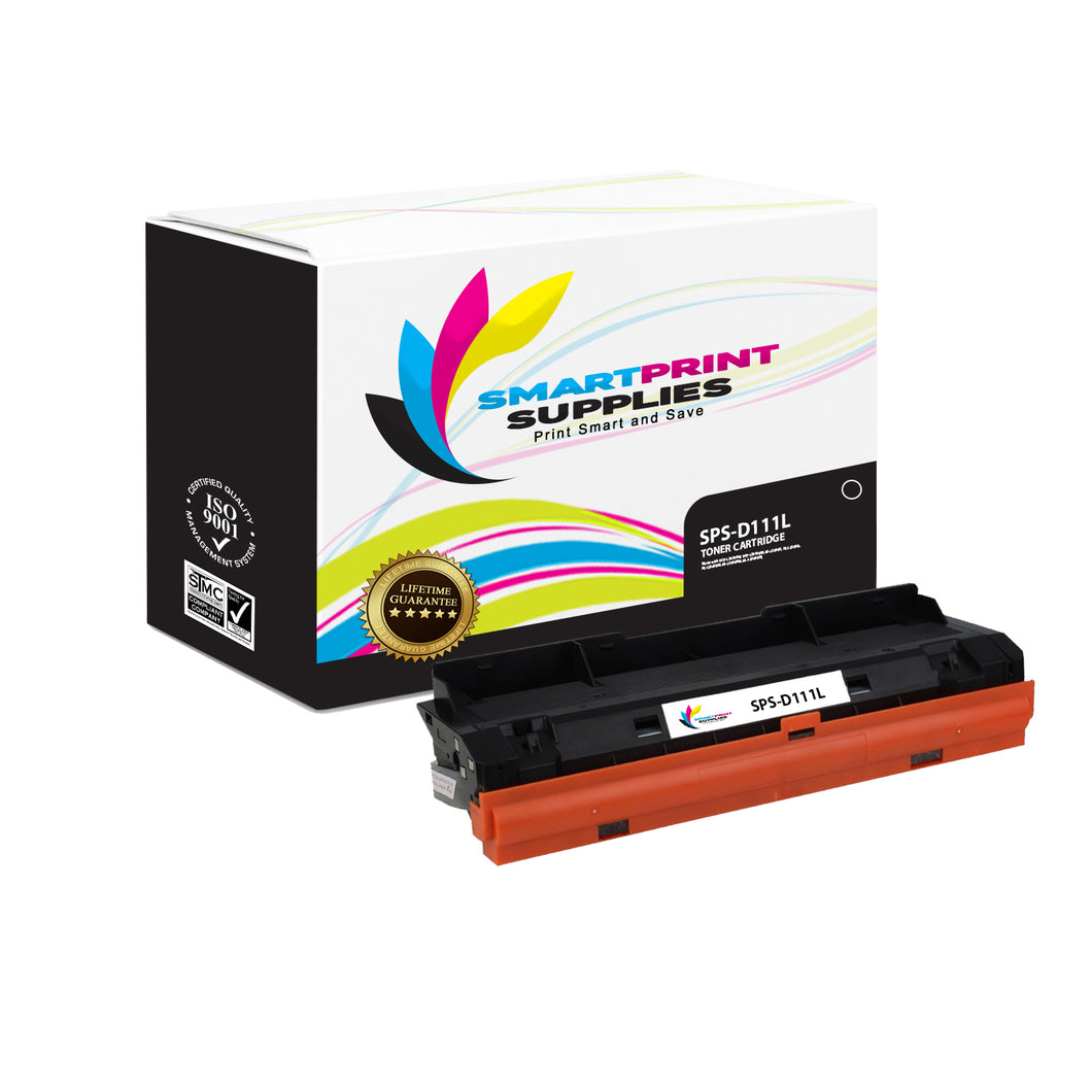 1 Pack Samsung D111L Replacement Black Toner Cartridge by Smart Print Supplies /2100 Pages