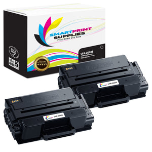 2 Pack Samsung D203E Black Super High Yield Toner Cartridge Replacement By Smart Print Supplies