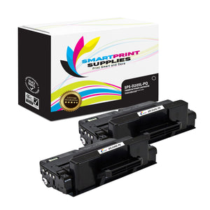 2 Pack Samsung MLTD205S / MLTD205L Premium Replacement Black Toner Cartridge by Smart Print Supplies