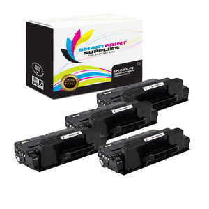 4 Pack Samsung MLTD205S / MLTD205L Premium Replacement Black Toner Cartridge by Smart Print Supplies